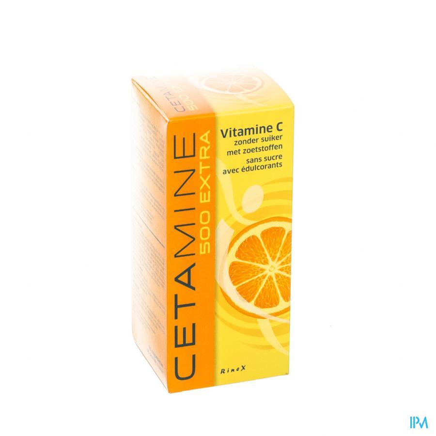 Cetamine 500 Extra sans sucre Comprimés A Sucer 60