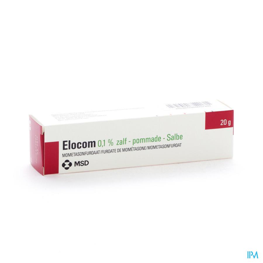 Elocom Ung 20g 1mg/g