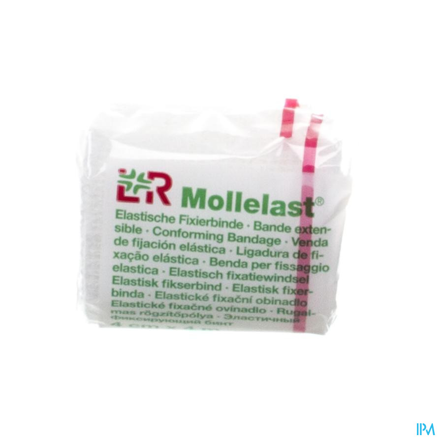 Mollelast Bande Gaze Elast Cello 4cmx4m 14410