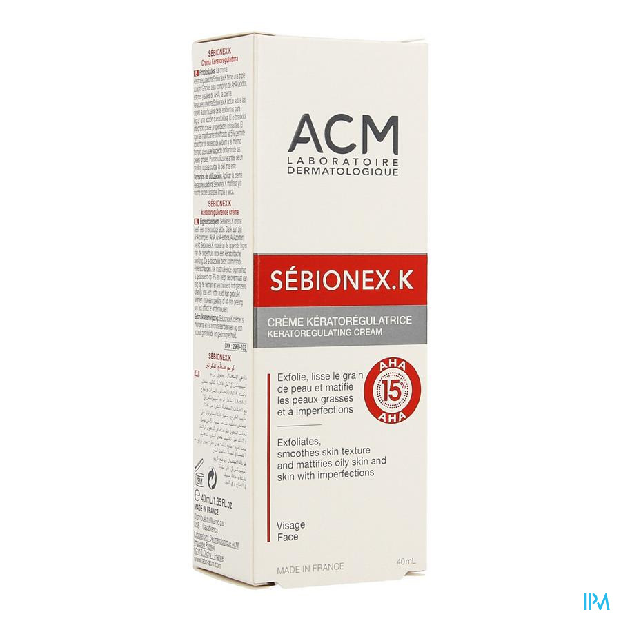 Sebionex K Creme Tube 40ml