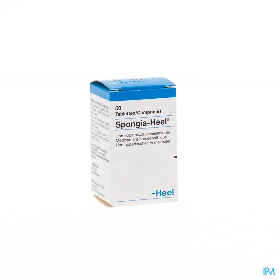 Spongia-heel Tabl 50 Heel