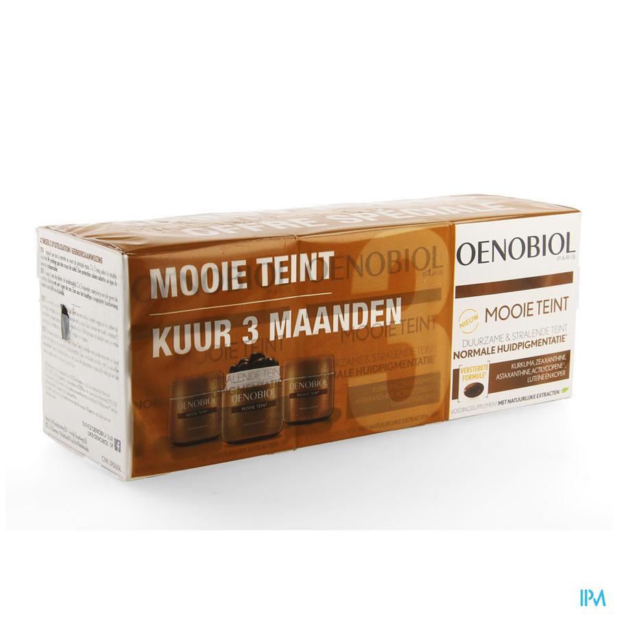 Oenobiol Mooie Teint Kuur Caps 3x30 Nf