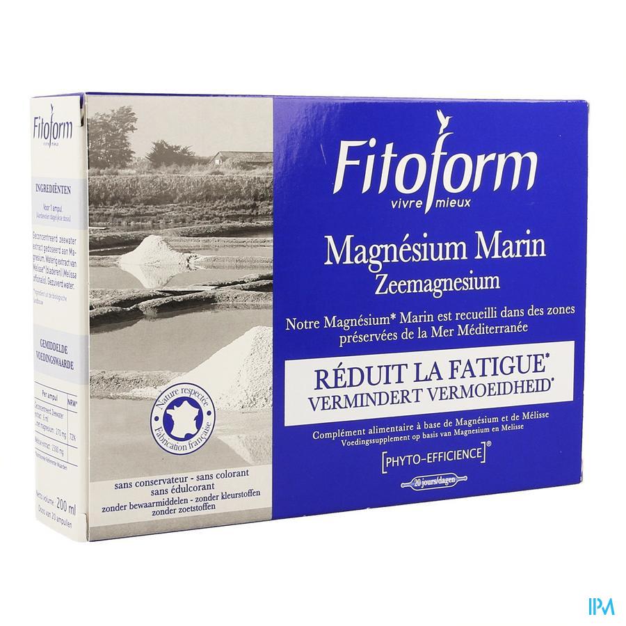 Zee Magnesium Amp 20x10ml Fitoform