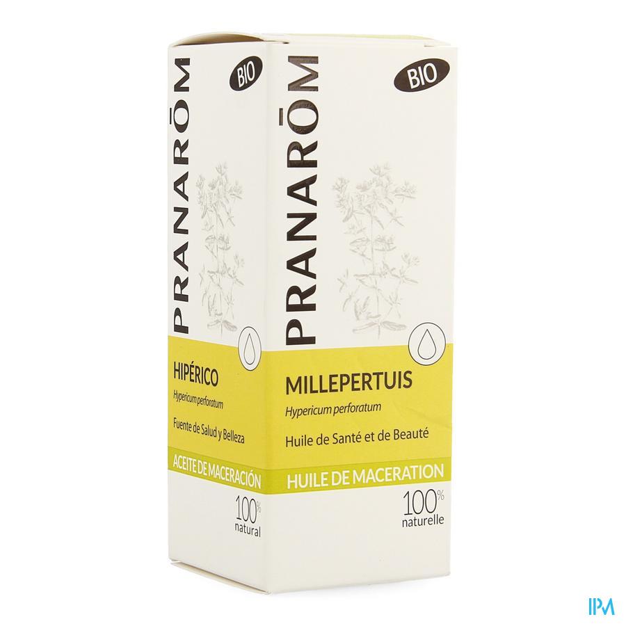 Millepertuis Bio Extrait Lipidique 50ml Pranarom
