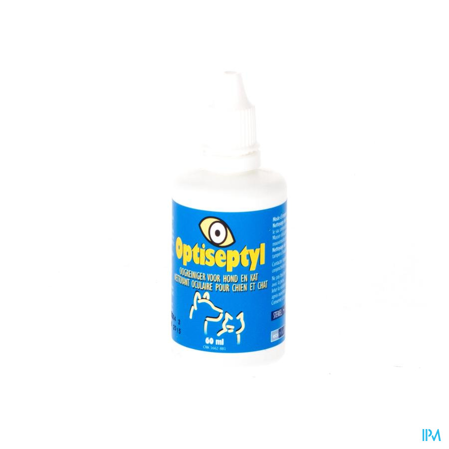Optiseptyl Oogreiniger Steriel 60ml