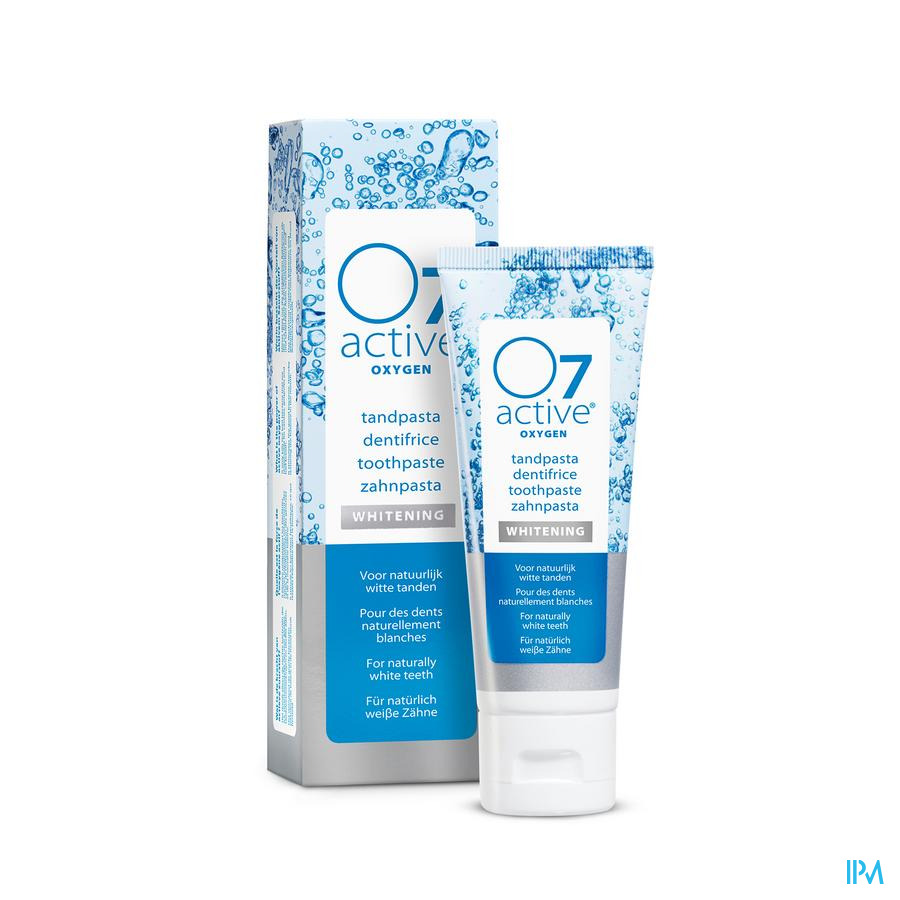 O7 Active Dentifrice Blancheur 75ml O760