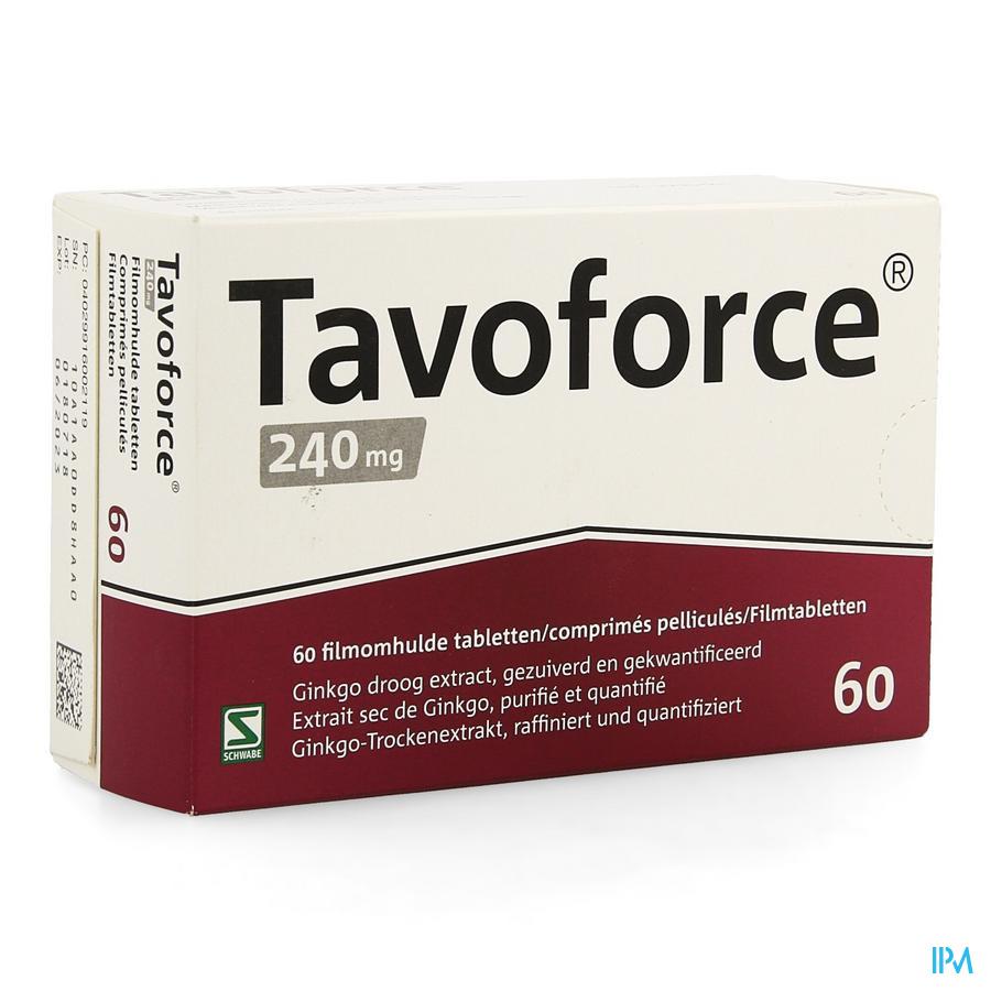 Tavoforce 240mg Filmomh Tabl 60