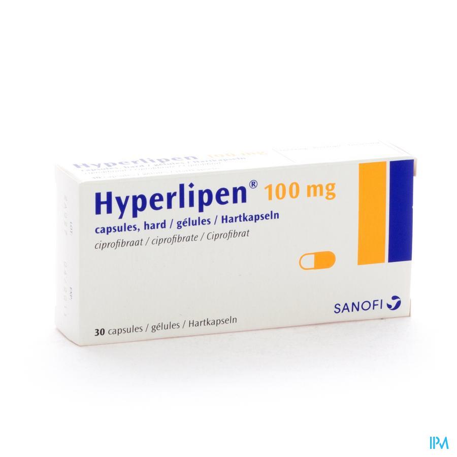 Hyperlipen Caps 30 X 100mg