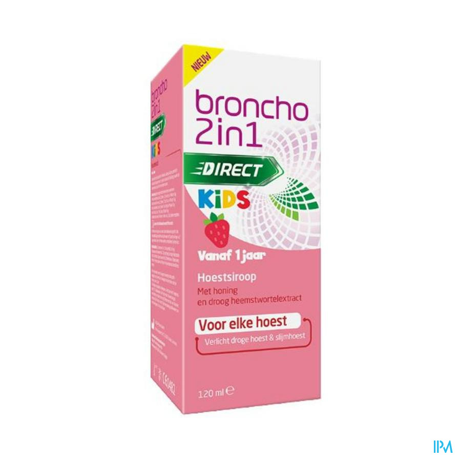 Broncho 2in1 Kids Cough Syrup 120ml