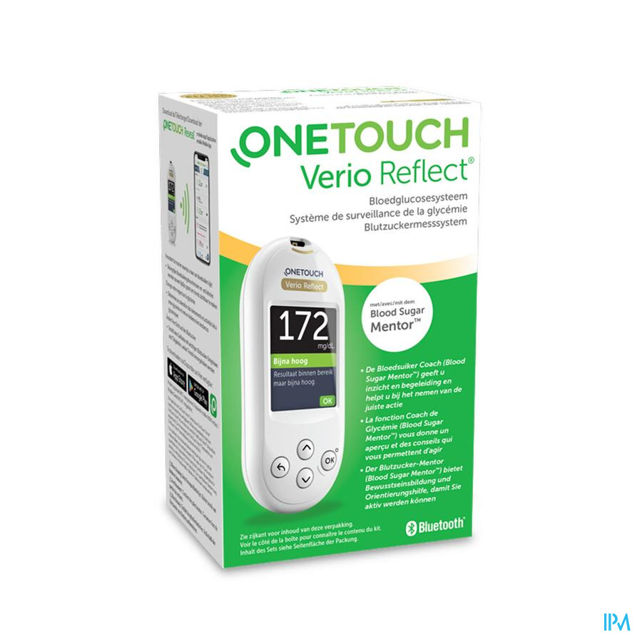 One Touch Verio Reflect BLOEDGLUCOSESYSTEEM