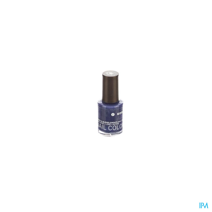 KORRES KM NAIL COLOUR 89 BLUEBERRY      10ML