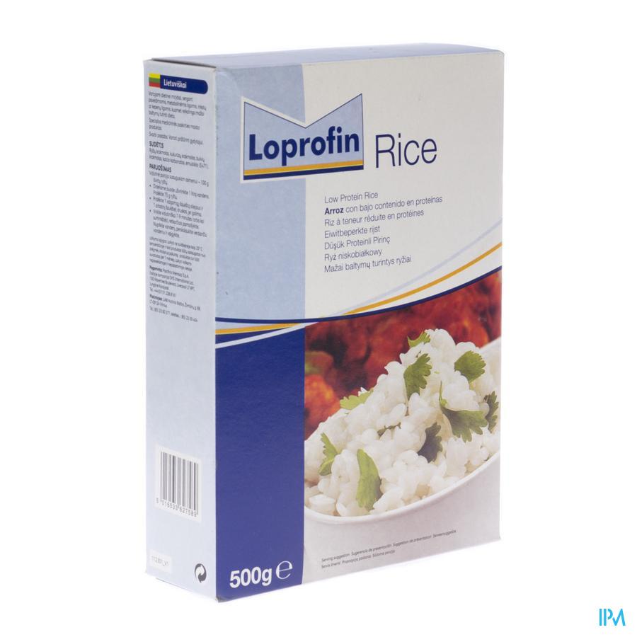 Loprofin Riz Pauvre En Protein 500 gr