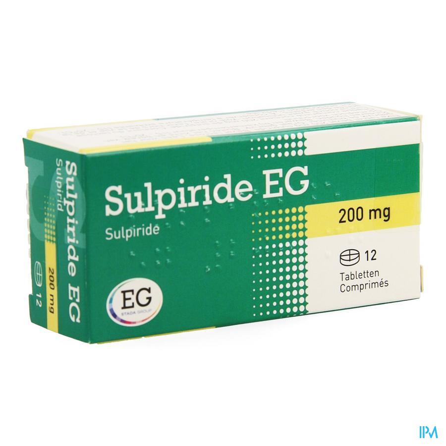 Sulpiride Eg Comp 12 X 200mg