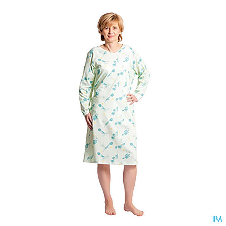 Suprima 4070 Patientenhemd Dame Groen S- M