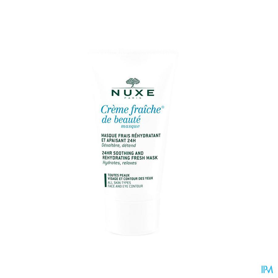 Nuxe Creme Fraiche Masque Beaute Tube 50ml