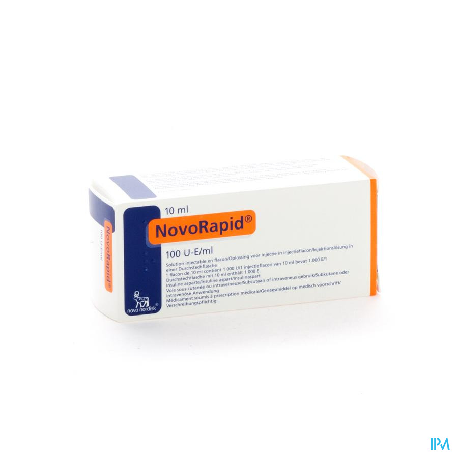 Novorapid Fl 1x10ml 100 U/ml