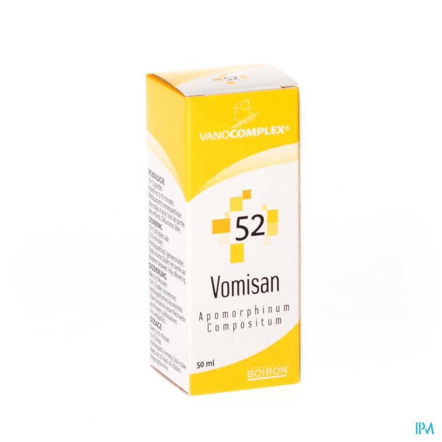Vanocomplex N52 Vomisan Gutt 50ml Unda
