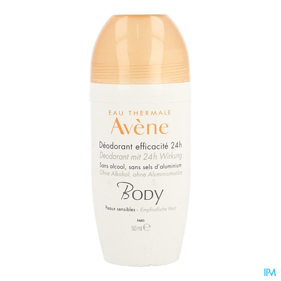 Avene Body Deodorant Efficacite 24h 50ml