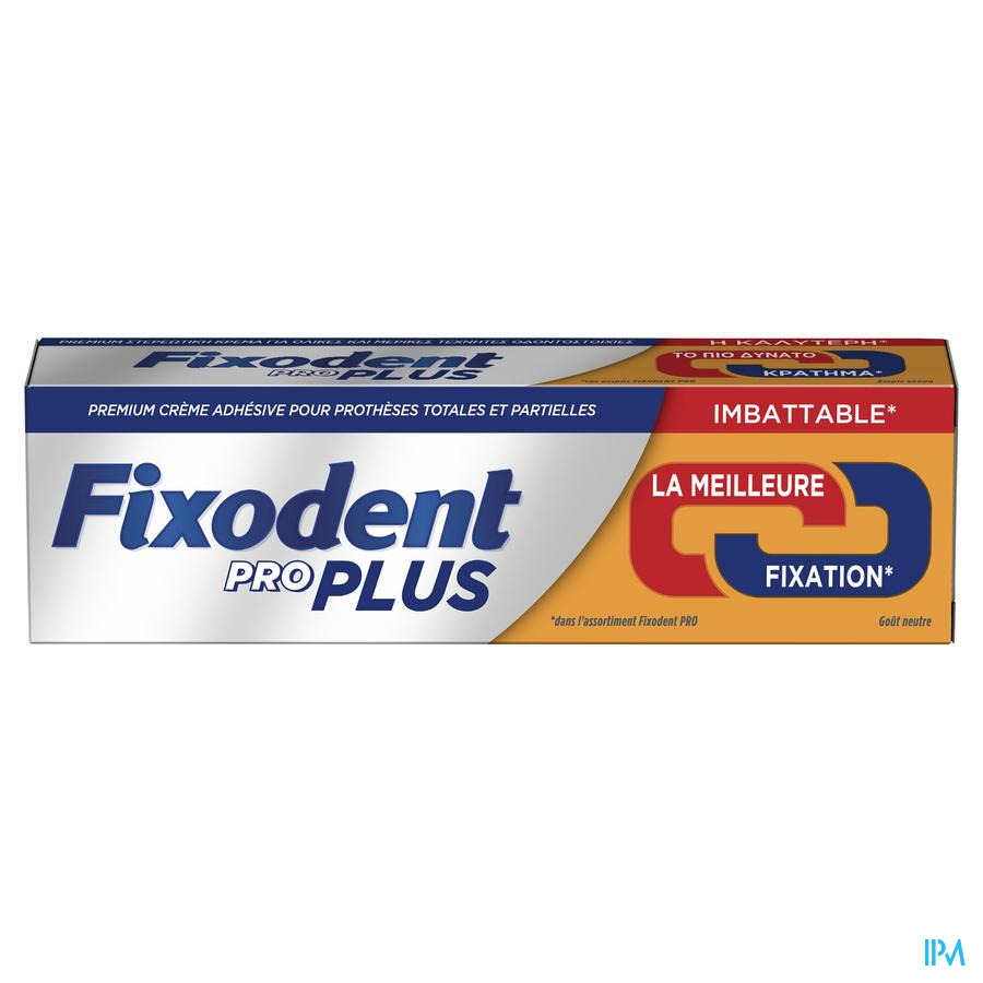 Fixodent Pro Plus Duo Action Pate Adhesive 40g