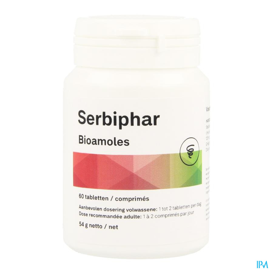Serbiphar Pot Comp 60