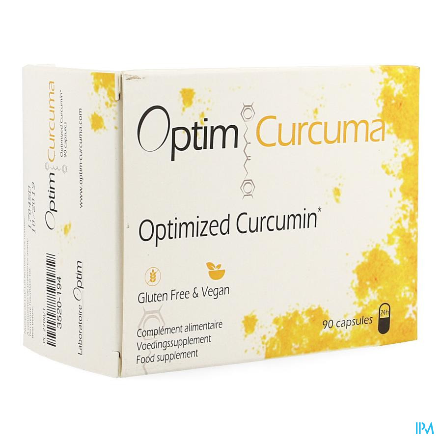 Optim Curcuma Caps 90