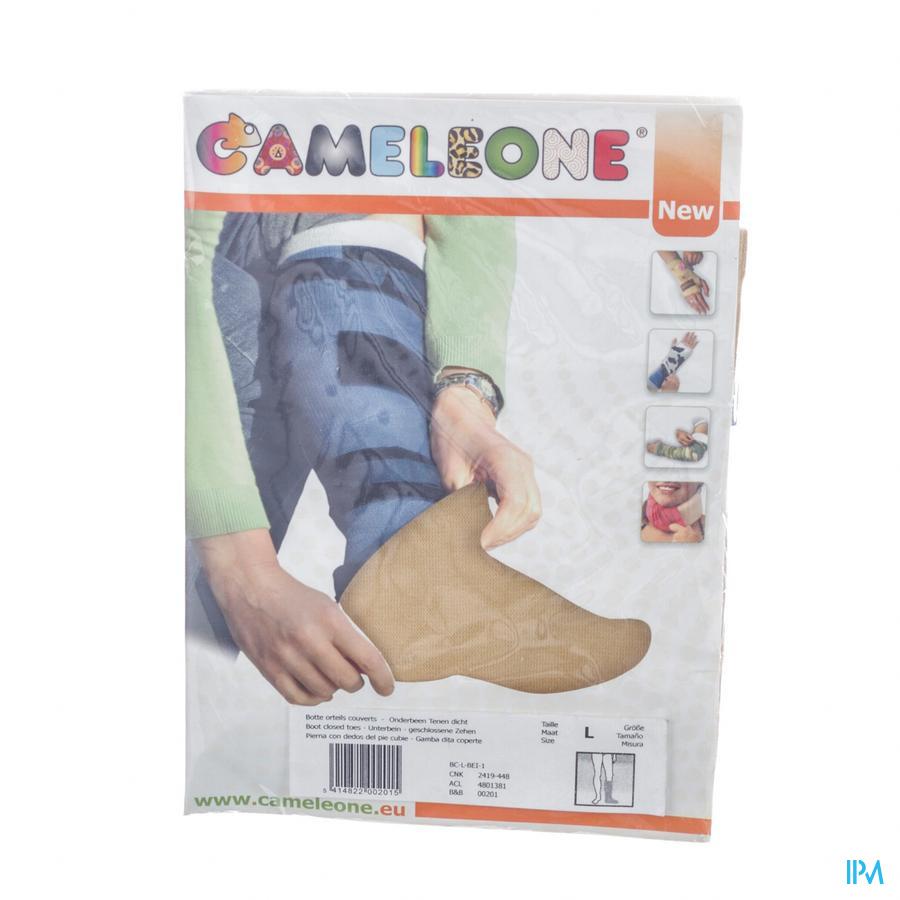 Cameleone Onderbeen Gesloten Teen Beige l 1