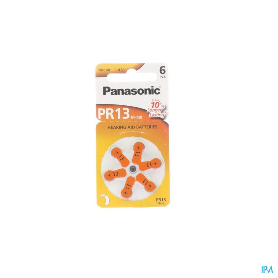 Panasonic Batterij Oorapparaat Pr 13h 6