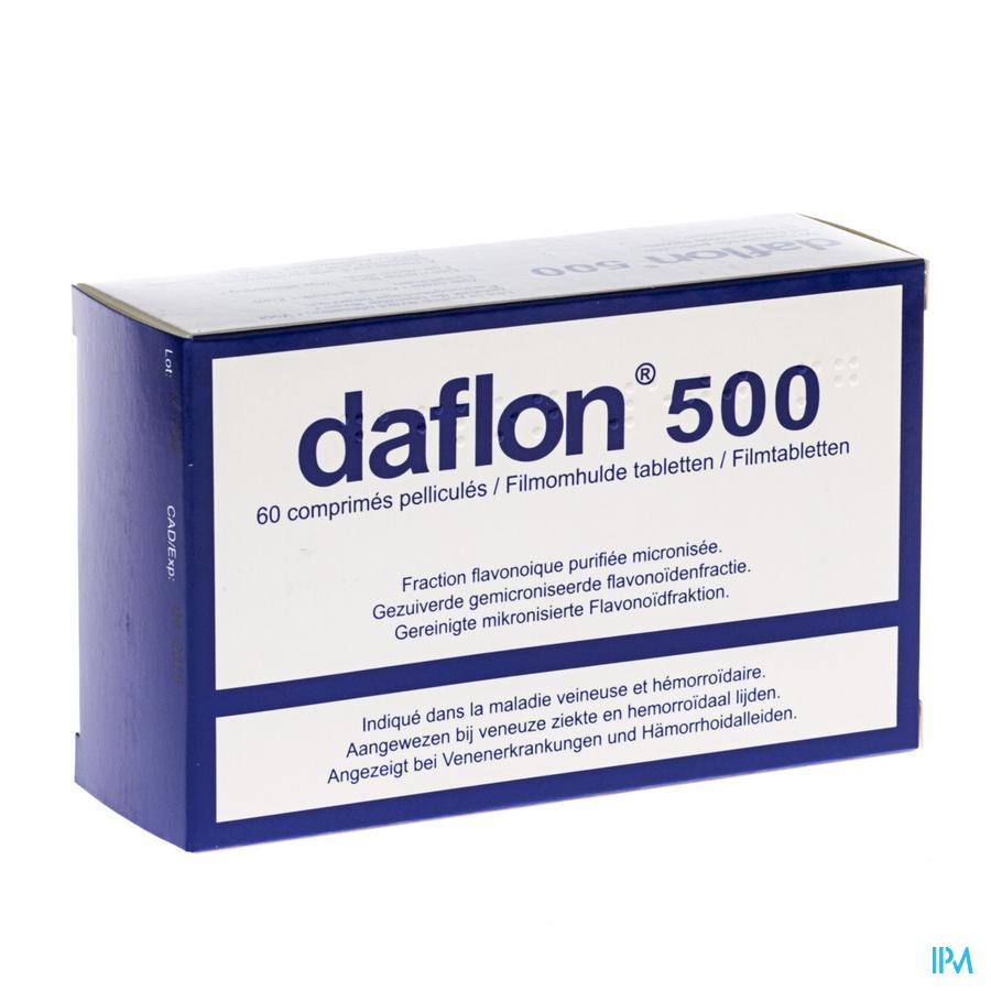 DAFLON IMPEXECO COMP  60X500MG PIP