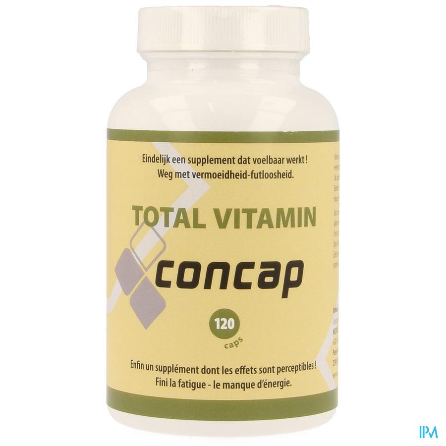 Concap Total Vitamin Caps 120