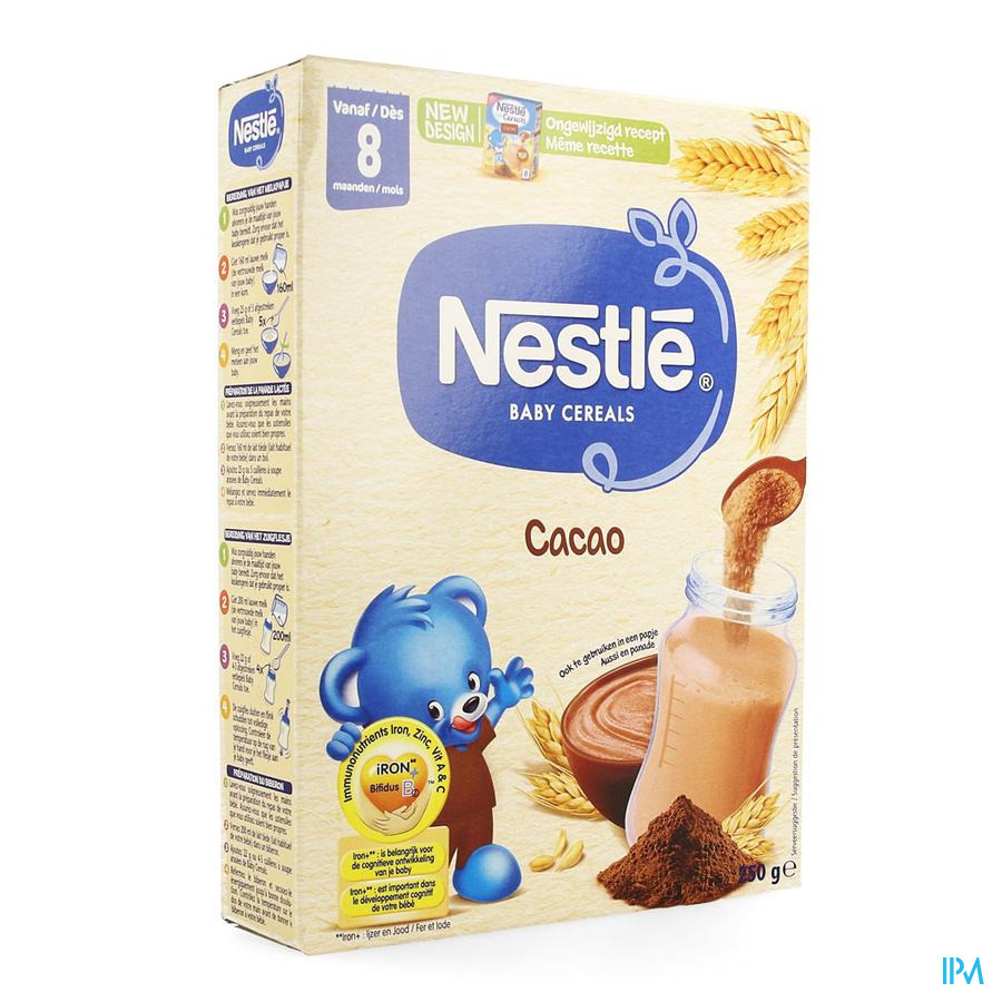 Nestle Baby Cereals Cacao 250g
