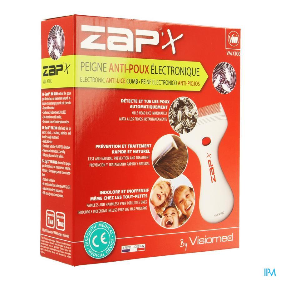 Zap X Peigne A Poux Electrique Z100