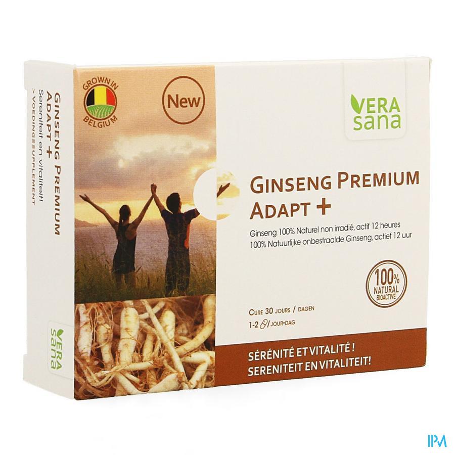 Ginseng Premium Adapt + Caps 30 Vera Sana