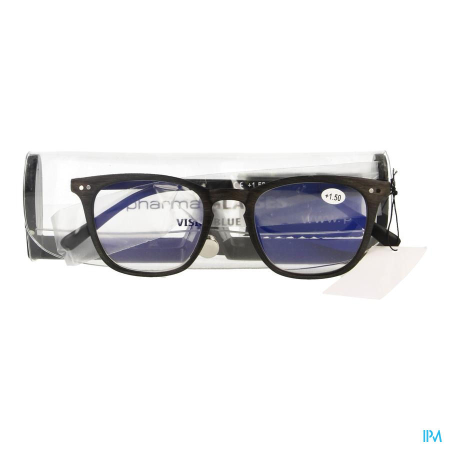 Pharmaglasses Visionblue Pc02 Leesbril +1.50 Brown