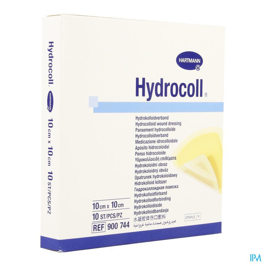 Hydrocoll Ster 10x10cm 10 9007443