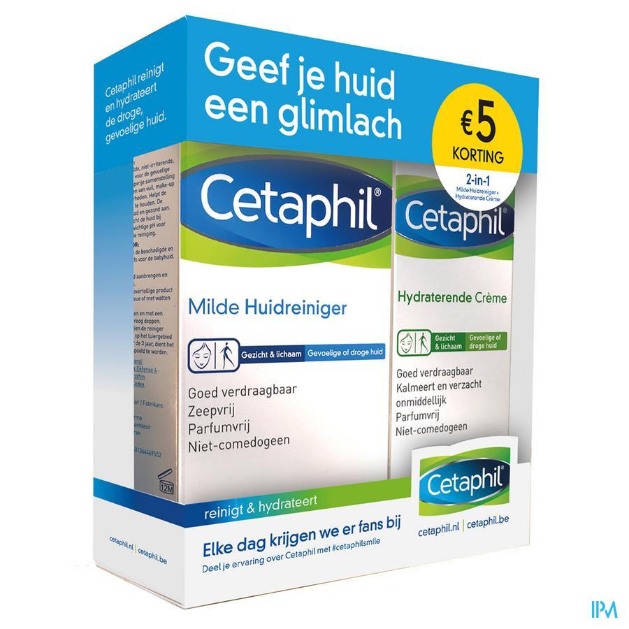 Cetaphil Complete set voor droge/gevoelige huid NL