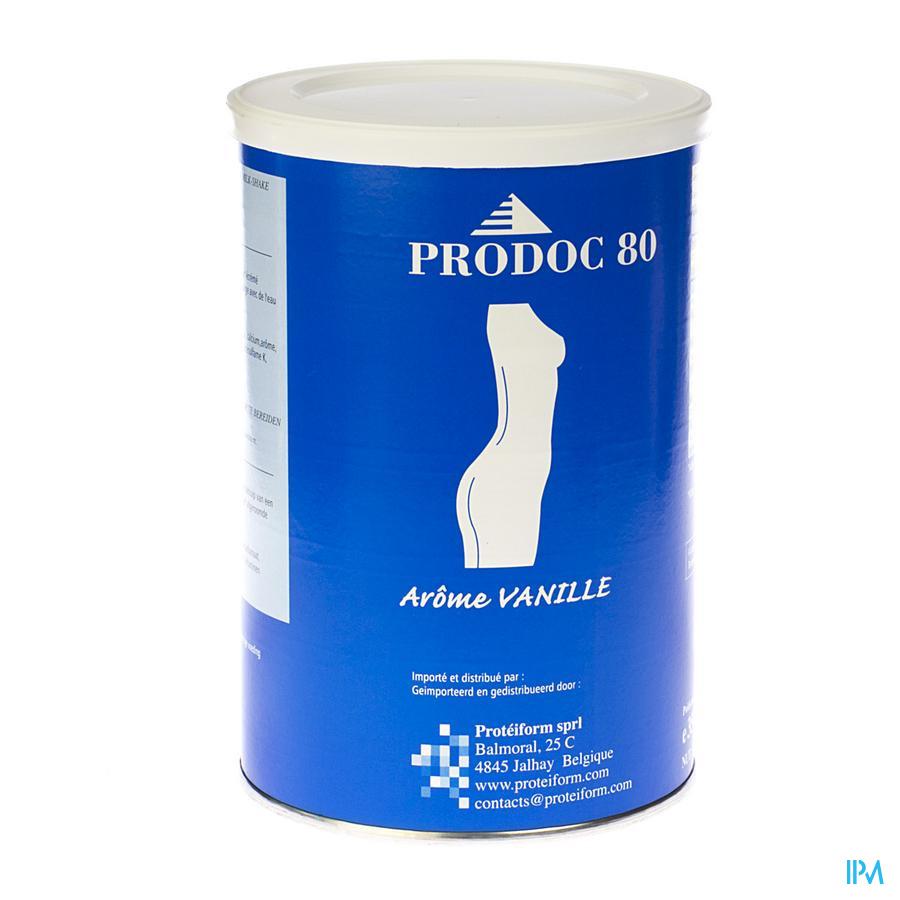 Prodoc 80 Poeder Milk-shake Vanille 350g