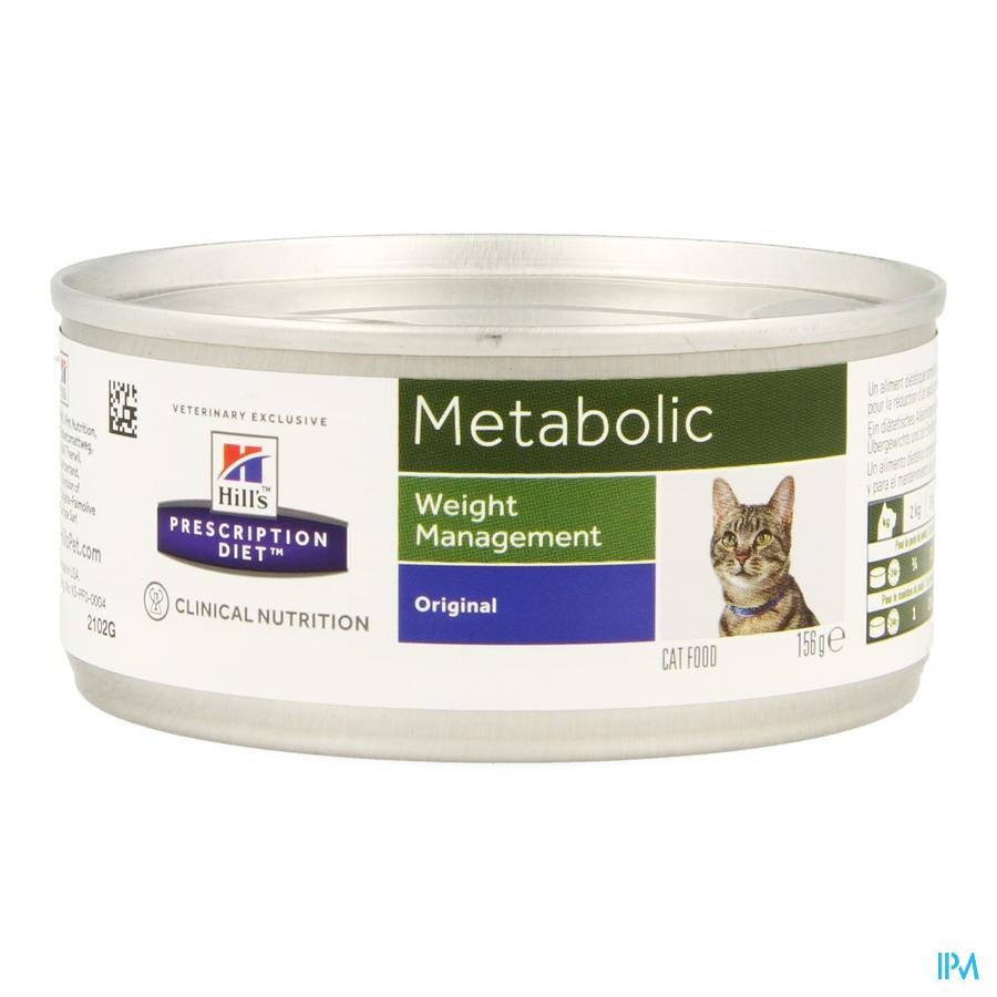 Prescription Diet Feline Metabolic 156g