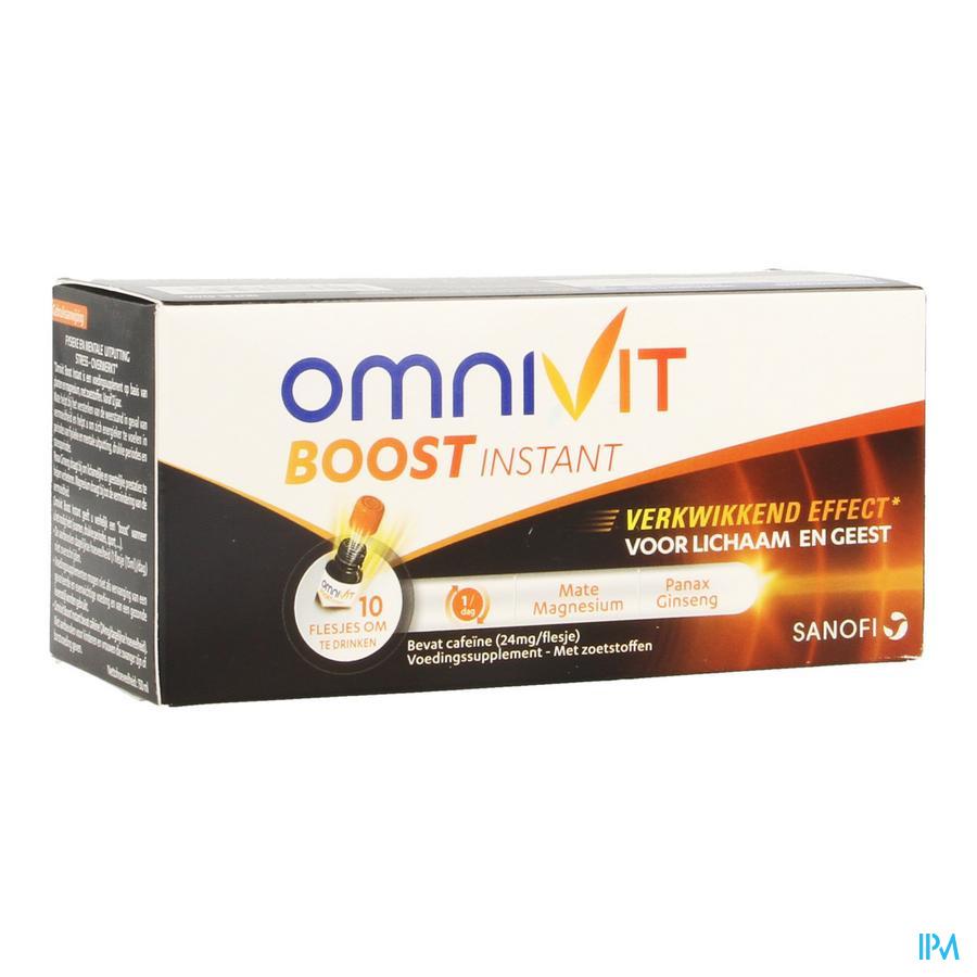 Omnivit Boost Instant Fl 10x15ml