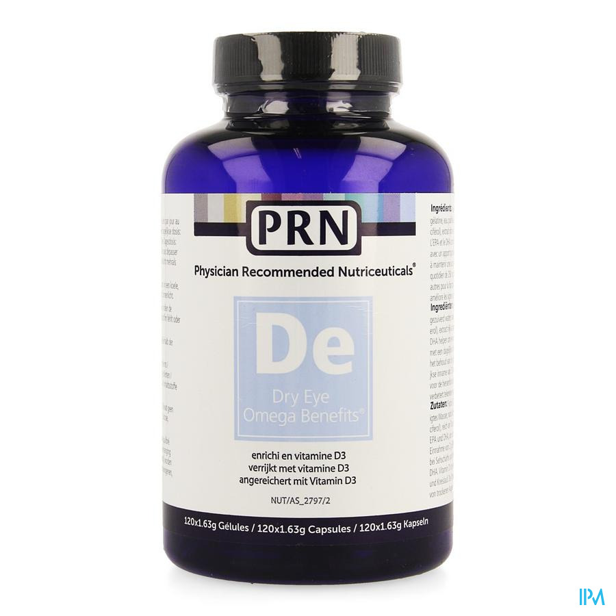 Dry Eye Prn Omega 3 Caps 120