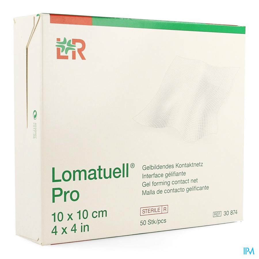 Lomatuell Pro Kompres Ster 10x10cm 50 30874