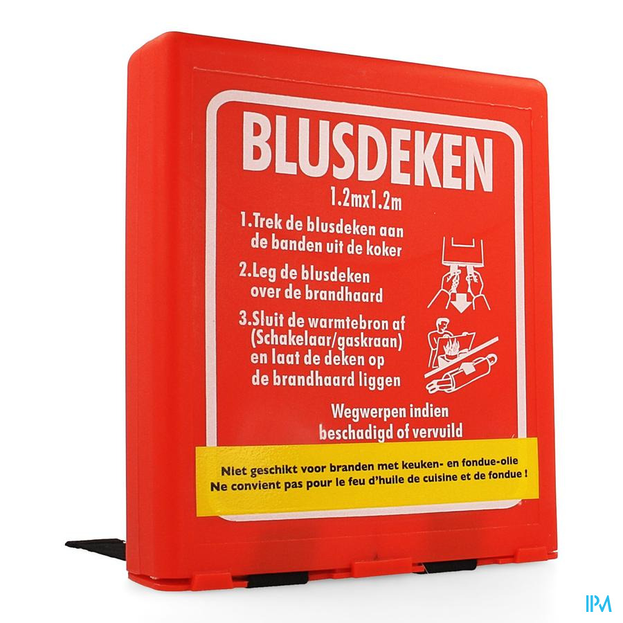 Branddeken Koker 1,2x1,2m Covarmed