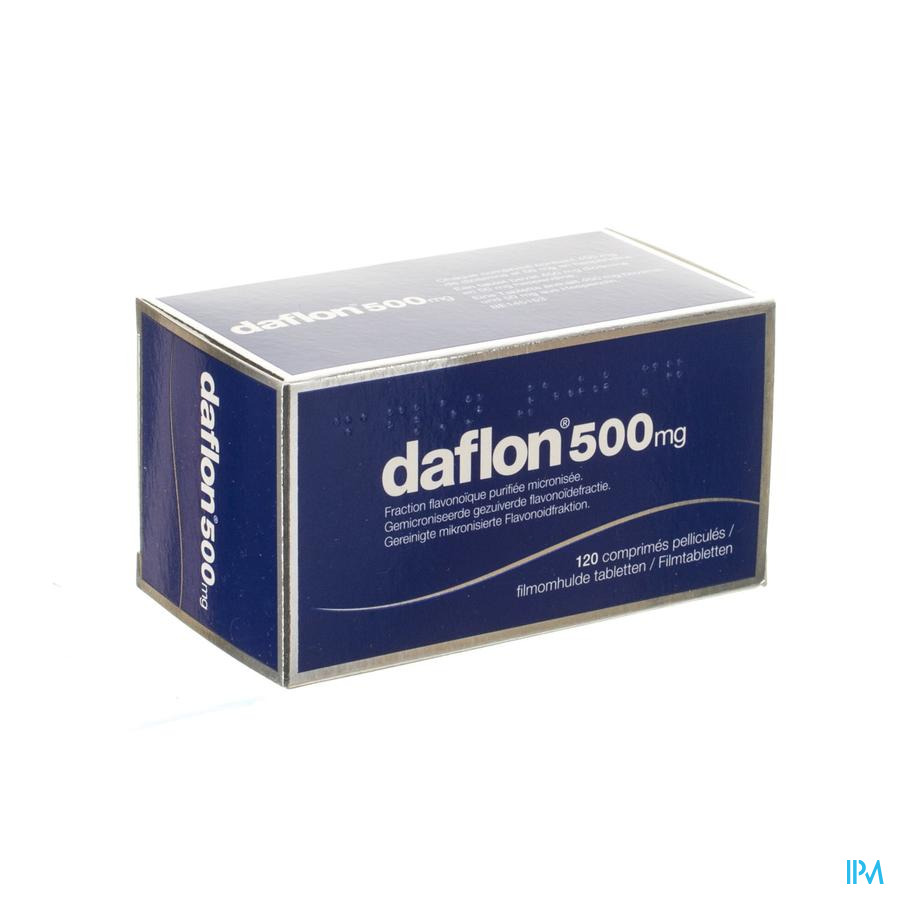 Daflon 500 Comp 120 X 500mg
