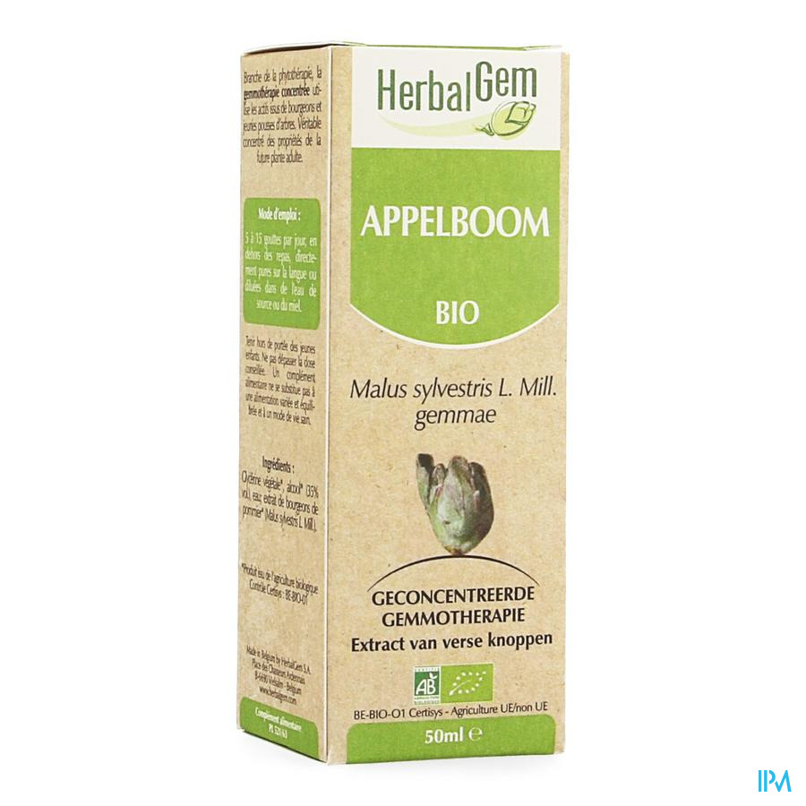 Herbalgem Appelboom Maceraat 50ml