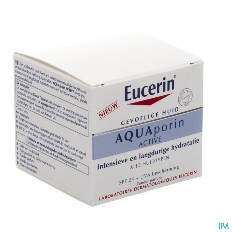 Eucerin Aquaporin Active Soin Hydra Ip25+uva 50ml