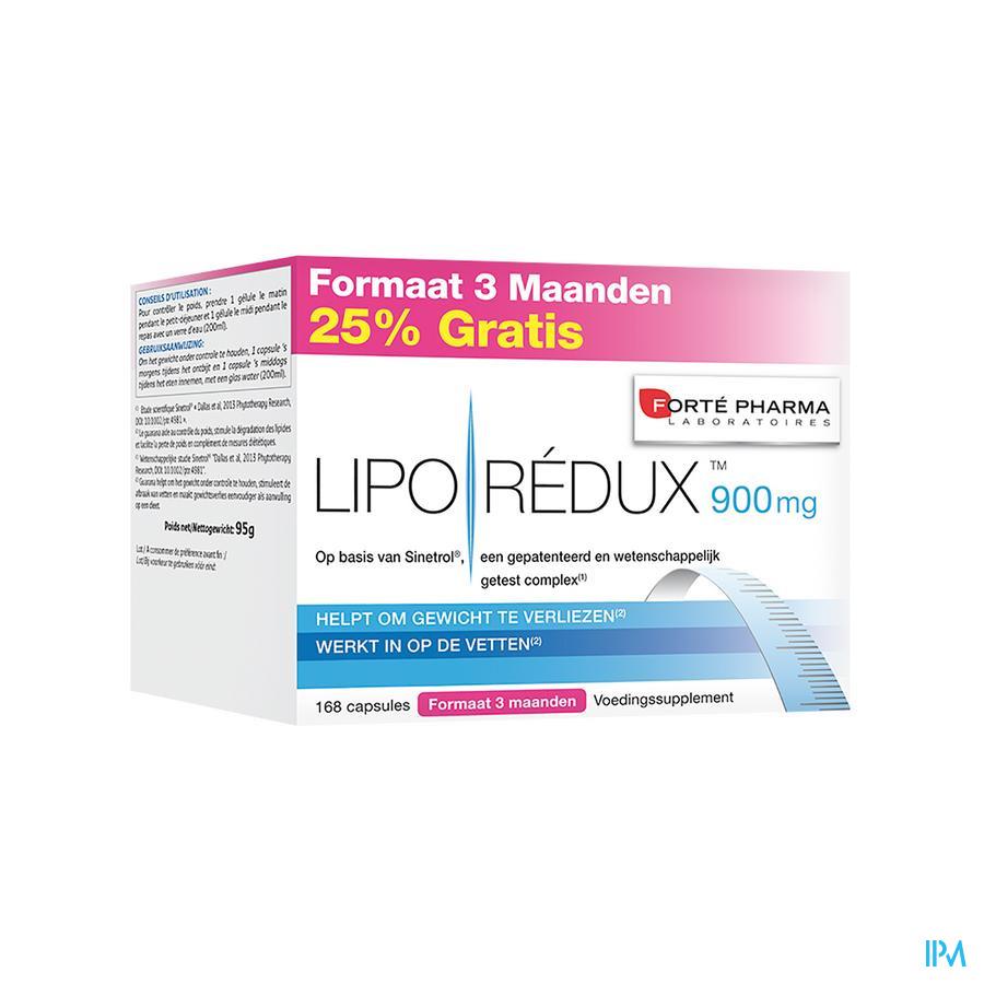 Liporedux 900mg Promopack 3 Maand Caps 168