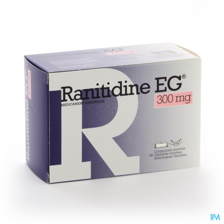 Ranitidine Eg Comp 56x300mg