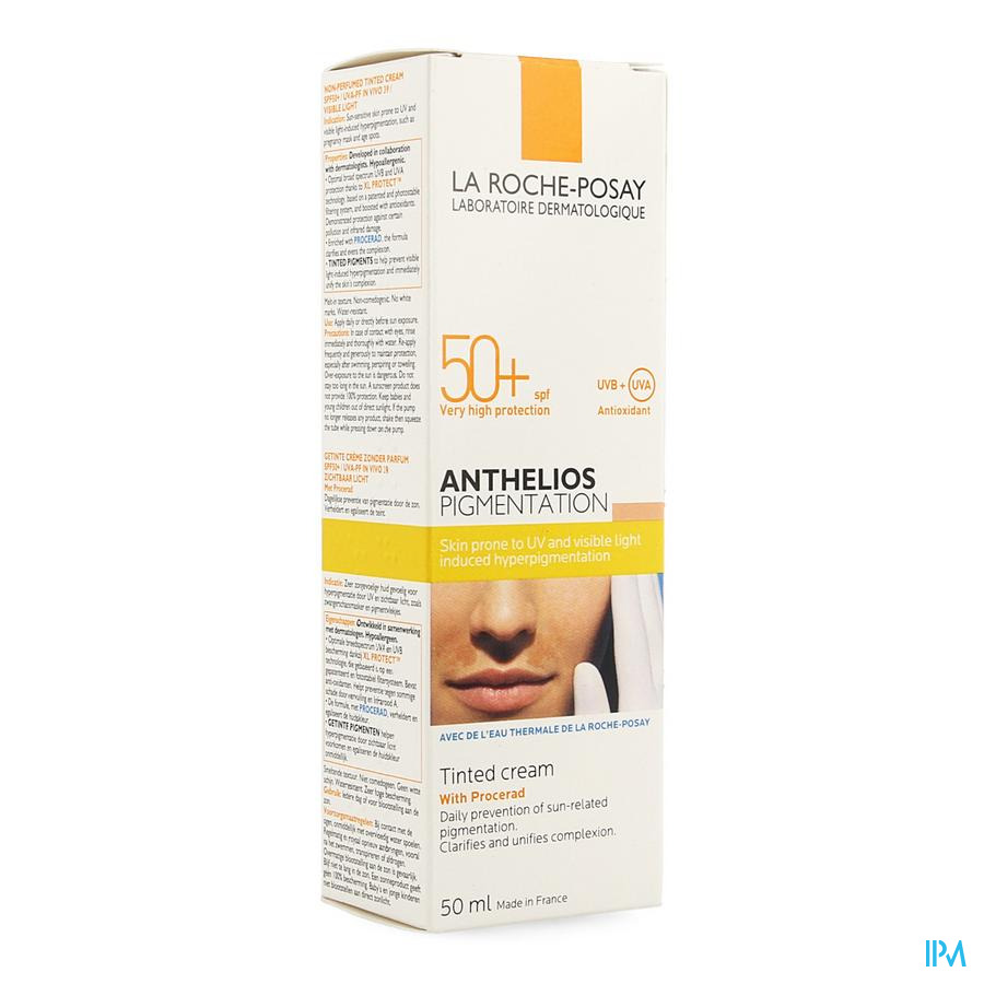 Lrp Anthelios Pigmentation Ip50+ 50ml