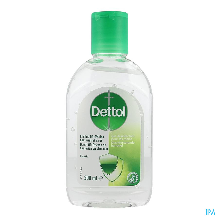 Dettol Desinfecterende Handgel Classic 200ml