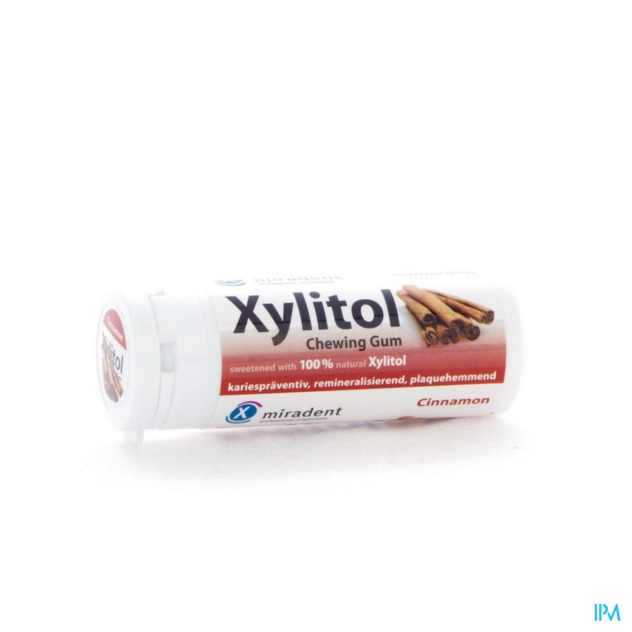 Miradent Chewing Gum Xylitol Canelle Ss 30