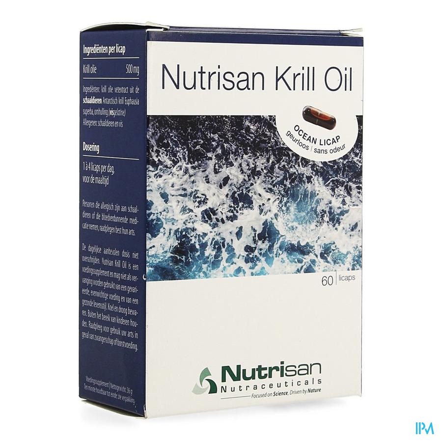 Nutrisan Krill Oil Licaps 60